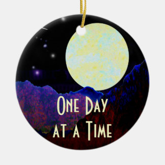 Valley of the Moon ODAT Round Ceramic Ornament