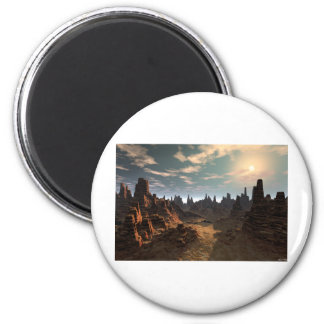 Valley of The Sun 2 Inch Round Magnet