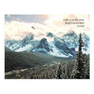 Valley of the Ten Peaks Postcard