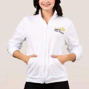 Val's Star Fitness Fleece Jacket w/ Shooting Stars