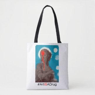 """VALTD """"Art Is A Drug"""" Tote Bag"""