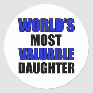 valuable daughter stickers
