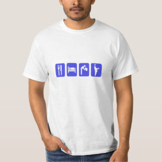 Value HorseShoes Tee-Eat Sleep Drink an Pitch T-Shirt