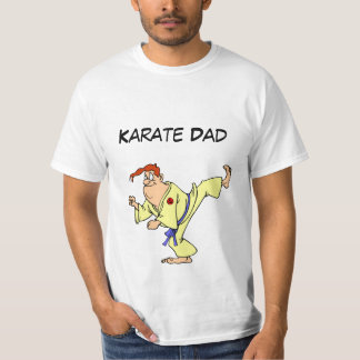 Value T-Shirt Karate Cartoon