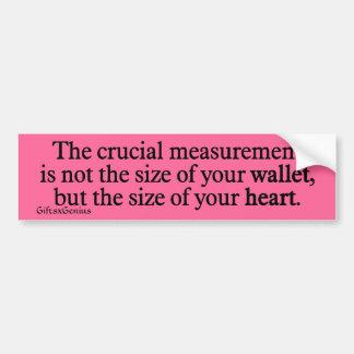 Valued Beyond Measure Bumper Sticker