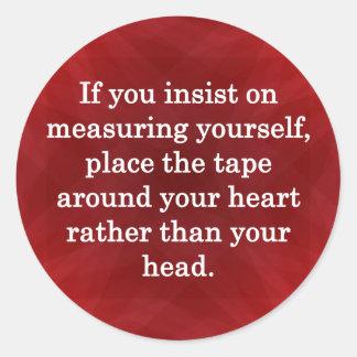 Valued Beyond Measure… Round Sticker