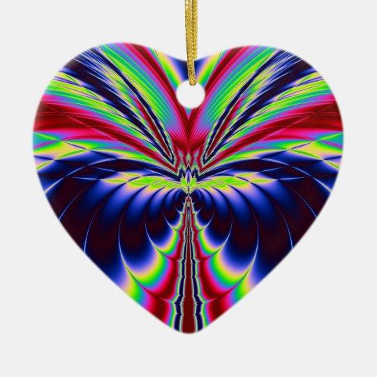 Valuegem Love Birds Hart  Ornament