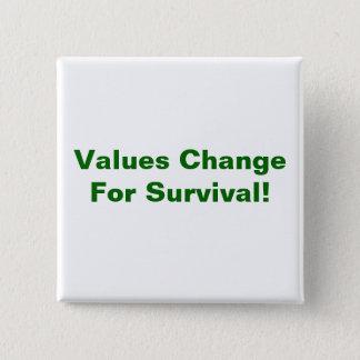 Values Change Button
