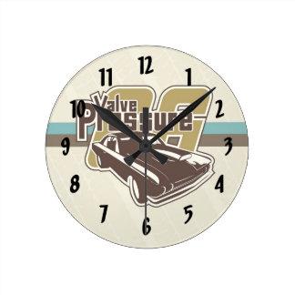 Valve Pressure 06 Wall Clocks