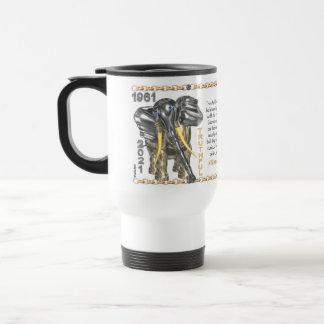 Valxart 1961 2021 MetalBull zodiac Capricorn Travel Mug