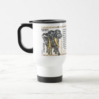 Valxart 1961 2021 MetalBull zodiac Leo Travel Mug