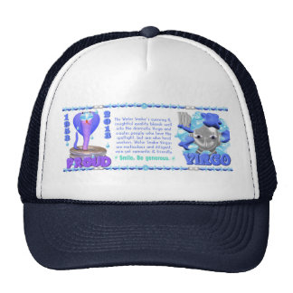 Valxart 2013 2073 1953 WaterSnake Virgo Trucker Hat