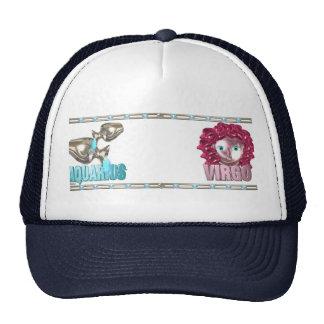 Valxart Aquarius Virgo zodiac friendship Trucker Hat