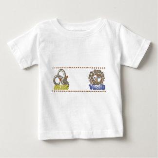 Valxart Aries Virgo zodiac friendship T-shirts