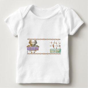 Valxart Gemini Sagittarius astrology friendship Baby T-Shirt