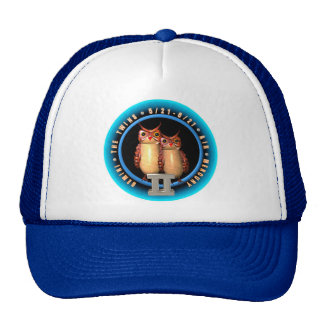 Valxart Gemini zodiac logo Trucker Hat