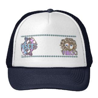 Valxart Pisces Virgo zodiac friendship Trucker Hat