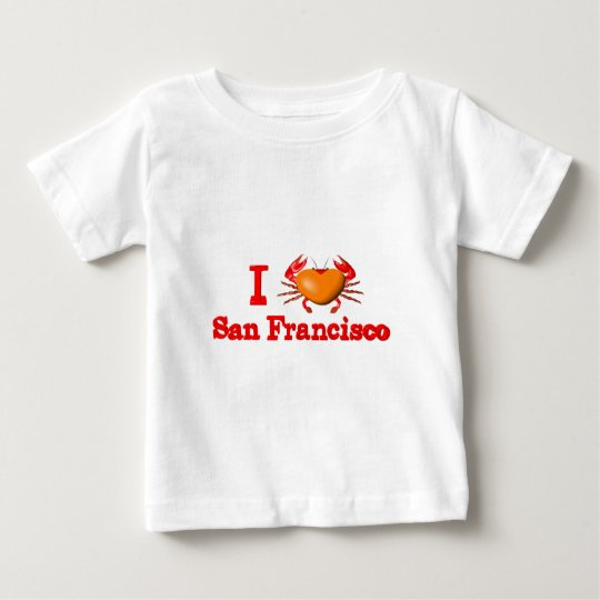Valxart San Francisco events  crab designs Baby T-Shirt
