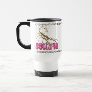 Valxart Scorpio Capricorn zodiac friendship Travel Mug