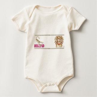 Valxart Scorpio Leo astrology friendship Baby Bodysuit