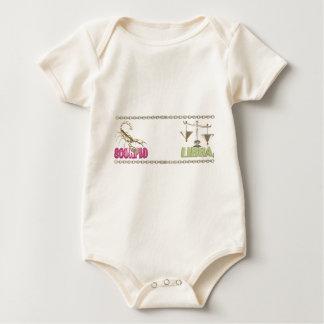 Valxart Scorpio Libra zodiac friendship Baby Bodysuit