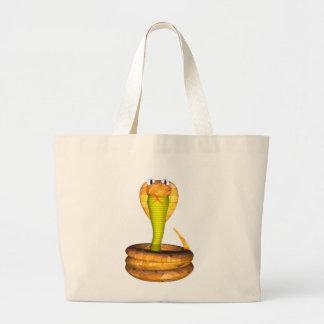 Valxart wood cobra friendship gifts large tote bag