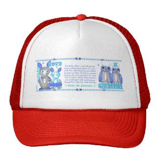 Valxart's 1972 2032 WaterRat zodiac born Gemini Trucker Hat