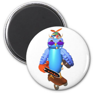 ValxArt's wise owl student graduation gift 2 Inch Round Magnet