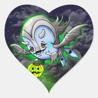 VAM BARAKA ROUND STICKER Monster HEART STICKER M