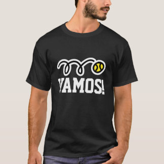 Vamos! Tennis t-shirt for players and fans