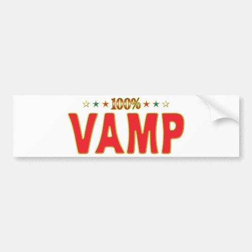 Vamp Star Tag Bumper Sticker