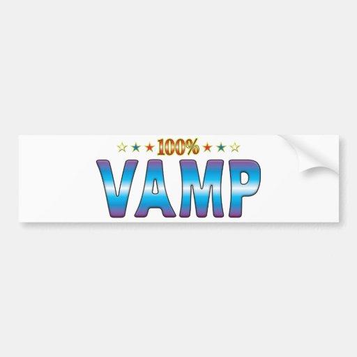 Vamp Star Tag v2 Bumper Sticker