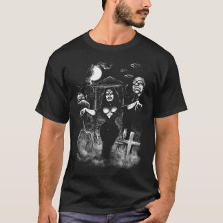 Vampira Plan 9 zombies T-Shirt