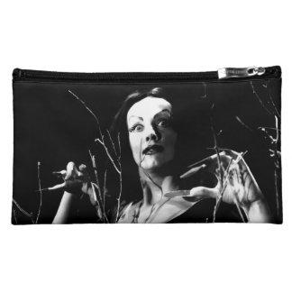 Vampira Sueded Medium Cosmetic Bag