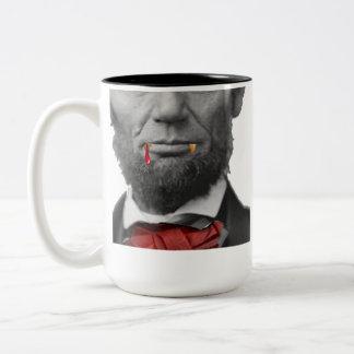 Vampire Abe Lincoln Mug