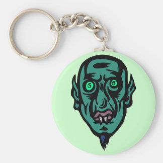 vampire alien key chain