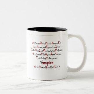 Vampire Alphabet Coffee Mug