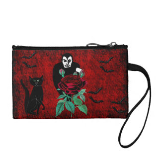 Vampire and Cat Coin Purses