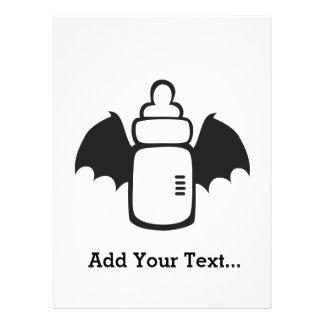 Vampire Baby bottle Announcements
