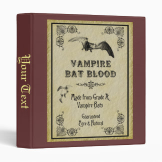 Vampire Bat Blood Binder