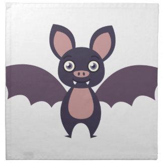 Vampire Bat Cloth Napkins