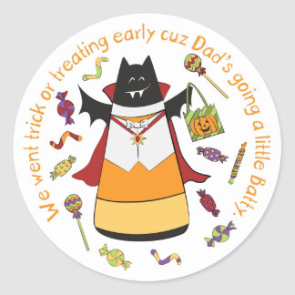 Vampire Bat - Corny Candy Sticker