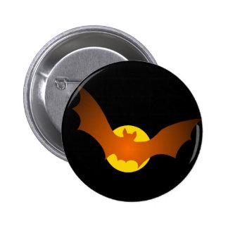 Vampire Bat Halloween 2 Inch Round Button