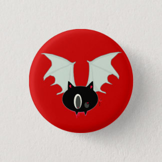 Vampire Bat Mini Button