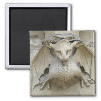 Vampire Bat Square Magnet