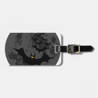 Vampire Bats Against The Dark Moon Luggage Tag