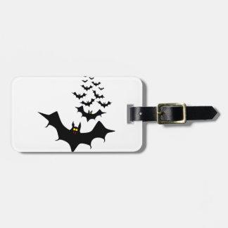 Vampire Bats Luggage Tag