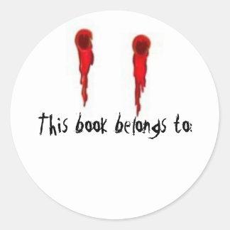 Vampire Bite book sticker
