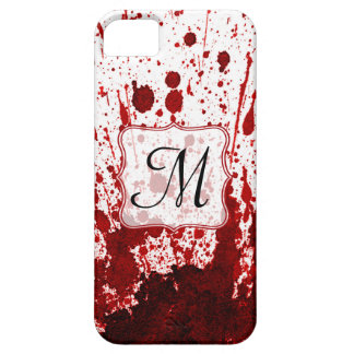 Vampire Blood Dripping Pool Monogram IPHONE 5 Case