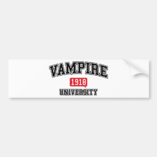 Vampire Bumper Sticker